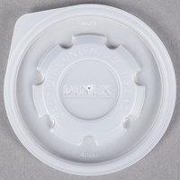 Dinex DX40008714 Translucent Disposable Lid for Dinex Heritage 8 oz. Mug and Dinex Heritage 5 oz. Bowl - 2000/Case