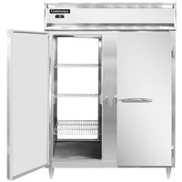 Continental DL2FE-SS-PT 57 inch Extra-Wide Solid Door Pass-Through Freezer