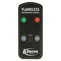 Sterno Products 60303 2.0 Rechargeable Flameless Candle Remote Control