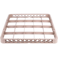Noble Products 20-Compartment Brown Full-Size Glass Rack Extender