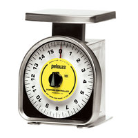Rubbermaid Pelouze Y16R 16 oz. Mechanical Portion Control Scale (FGY16R)
