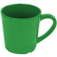 Thunder Group CR9018GR Smooth Melamine 7 oz. Green Mug - 12/Case