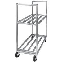 Channel BBT-2 Aluminum Two Shelf Utility Cart - 27 inch x 60 inch x 67 1/2 inch