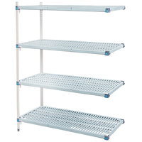 Metro AQ556G3 MetroMax Q Shelving Add On Unit - 24 inch x 48 inch x 63 inch