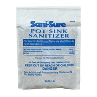 Diversey 90229 Sani-Sure 1 oz. Pot Sink Sanitizer Packet   - 50/Case