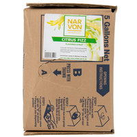 Narvon 5 Gallon Bag in Box Citrus Fizz Beverage / Soda Syrup