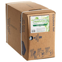Narvon 5 Gallon Bag in Box Dew Drop Beverage / Soda Syrup