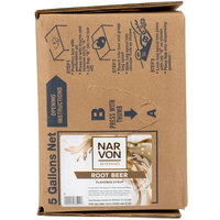 Narvon Bag In Box Old Fashioned Root Beer Beverage / Soda Syrup - 5 Gallon