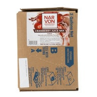 Narvon 3 Gallon Bag in Box Cranberry Juice Syrup