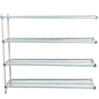 Metro AQ376G3 MetroMax Q Shelving Add On Unit - 18 inch x 72 inch x 63 inch