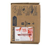 Narvon Bag In Box Fruit Punch Drink Syrup - 5 Gallon