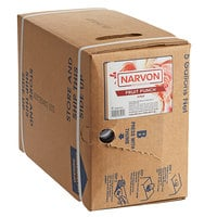 Narvon 5 Gallon Bag in Box Fruit Punch Drink Syrup
