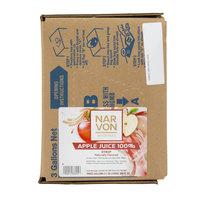 Narvon 3 Gallon Bag in Box Apple Juice Syrup