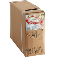 Narvon 3 Gallon Bag in Box Apple Juice Syrup