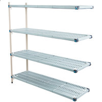 Metro AQ366G3 MetroMax Q Shelving Add On Unit - 18 inch x 60 inch x 63 inch