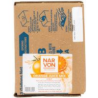 Narvon 3 Gallon Bag in Box Orange Juice Syrup