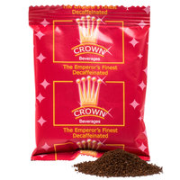 Crown Beverages 2 oz. Emperor's Finest Premium Blend Decaf Coffee Packet - 80/Case