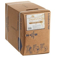 Narvon 5 Gallon Bag in Box Old Fashioned Cream Soda Beverage / Soda Syrup