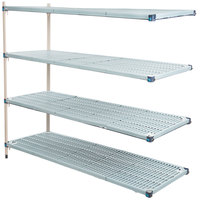 Metro AQ576G3 MetroMax Q Shelving Add On Unit - 24 inch x 72 inch x 63 inch