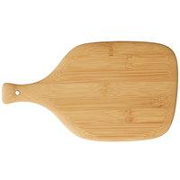 Bambu® 026611 11 inch x 6 1/4 inch Bamboo Artisan Cutting / Serving Board