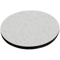 American Tables & Seating ATS48 48 inch Round Laminate Table Top with Black Edge