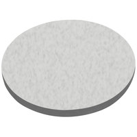 American Tables & Seating ATS60 60 inch Round Laminate Table Top with Gray Edge