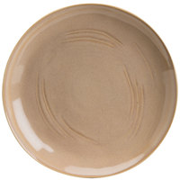 Hall China 47590ASYA Studio 10 1/2 inch Yellow China Plate - 12/Case