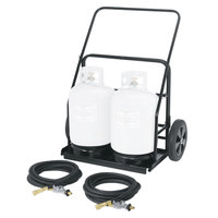 Crown Verity ZCV-RPS-486072 Remote Propane Cart