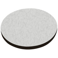 American Tables & Seating ATS60 60 inch Round Laminate Table Top with Black Edge