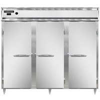Continental DL3WE-SS 86 inch Extra-Wide Solid Door Reach-In Heated Holding Cabinet - 3000W