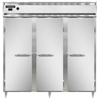 Continental DL3W 78 inch Solid Door Reach-In Heated Holding Cabinet - 3000W