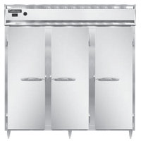 Continental DL3W-SS 78 inch Solid Door Reach-In Heated Holding Cabinet - 3000W