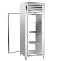 Traulsen AHF132WP-FHG 26.1 Cu. Ft. Glass Door Single Section Reach In Pass-Through Heated Holding Cabinet - Specification Line