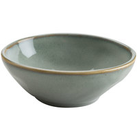 Hall China 47480ASGA Studio 15 oz. Gray China Bowl - 12/Case