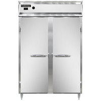 Continental DL2W-SS 52 inch Solid Door Reach-In Heated Holding Cabinet - 2250W