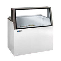 Master-Bilt DD-26L 27 inch Low Glass Ice Cream Dipping Cabinet