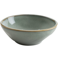 Hall China 47500ASGA Studio 23 oz. Gray China Bowl - 12/Case