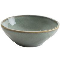 Hall China 47470ASGA Studio 10 oz. Gray China Bowl - 12/Case