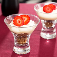 Anchor Hocking 90063 Perfect Portions 2.5 oz. Dessert Taster Glass - Mini Martini Glass   - 36/Case