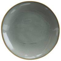 Hall China 47570ASGA Studio 8 1/2 inch Gray China Plate - 24/Case