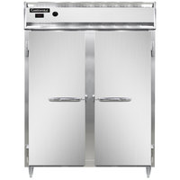 Continental DL2WE-SS 57 inch Extra-Wide Solid Door Reach-In Heated Holding Cabinet - 2250W
