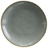Hall China 47550ASGA Studio 6 1/4 inch Gray China Plate - 12/Case