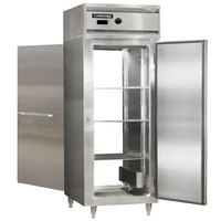 Continental DL1WE-SS-PT 29 inch Extra-Wide Solid Door Pass-Through Heated Holding Cabinet - 1500W