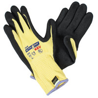 ActivGrip Advance Kevlar® Gloves with Black MicroFinish Nitrile Palm Coating - Large - Pair