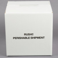 Nordic TL-888K 7 13/16 inch x 7 13/16 inch x 7 3/4 inch Insulated Polystyrene Cooler with Shipping Box