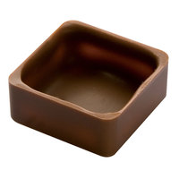 Matfer Bourgeat 383205 Polycarbonate 24 Compartment Square Shells Chocolate Mold