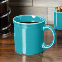 Homer Laughlin 570107 Fiesta Turquoise 12 oz. Java Mug - 12/Case