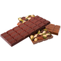 Matfer Bourgeat 380258 Polycarbonate Single Comparment 4 inch x 7 inch Chocolate Bar Mold