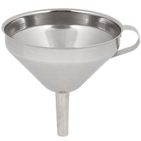 Matfer Bourgeat 116220 4 3/4 inch Stainless Steel Funnel