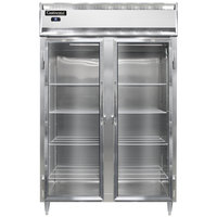 Continental DL2R-SS-GD 52 inch Glass Door Reach-In Refrigerator